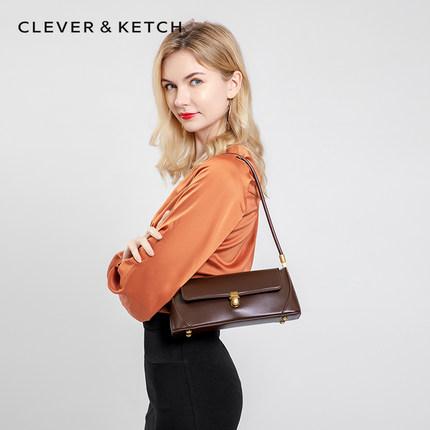 Túi xách nữ thời trang  Túi ck nhỏ 2020 túi nách mới thời trang túi nữ kết cấu túi nước ngoài baguet
