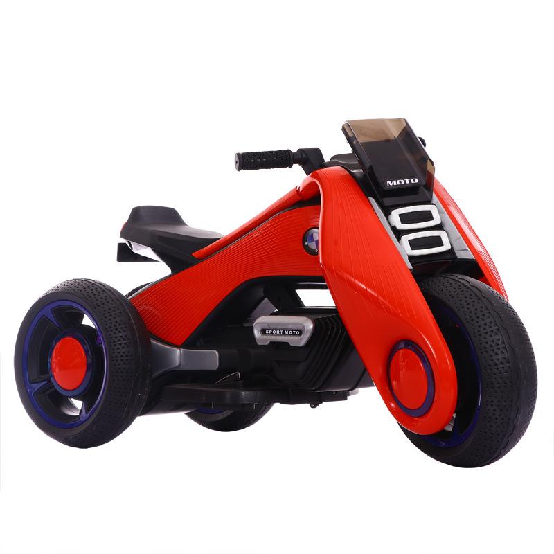 Xe máy móc điện cho trẻ em bé có cỡ lớn có thể ngồi trên xe đồ chơi của bé gái