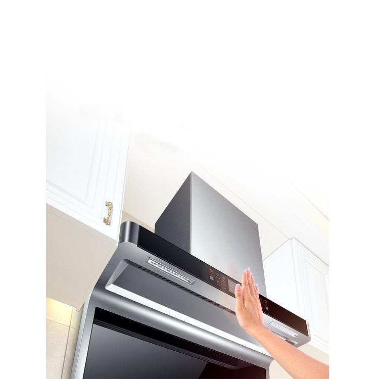 ZXAQ Household large suction range hood Rental room side suction range hood Hot cleaning range hood