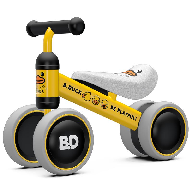 LUDDY Xe tập đi Xe đạp trẻ em của Le cân bằng xe đạp cho bé tập đi bộ không chân đồ chơi xe tay ga c
