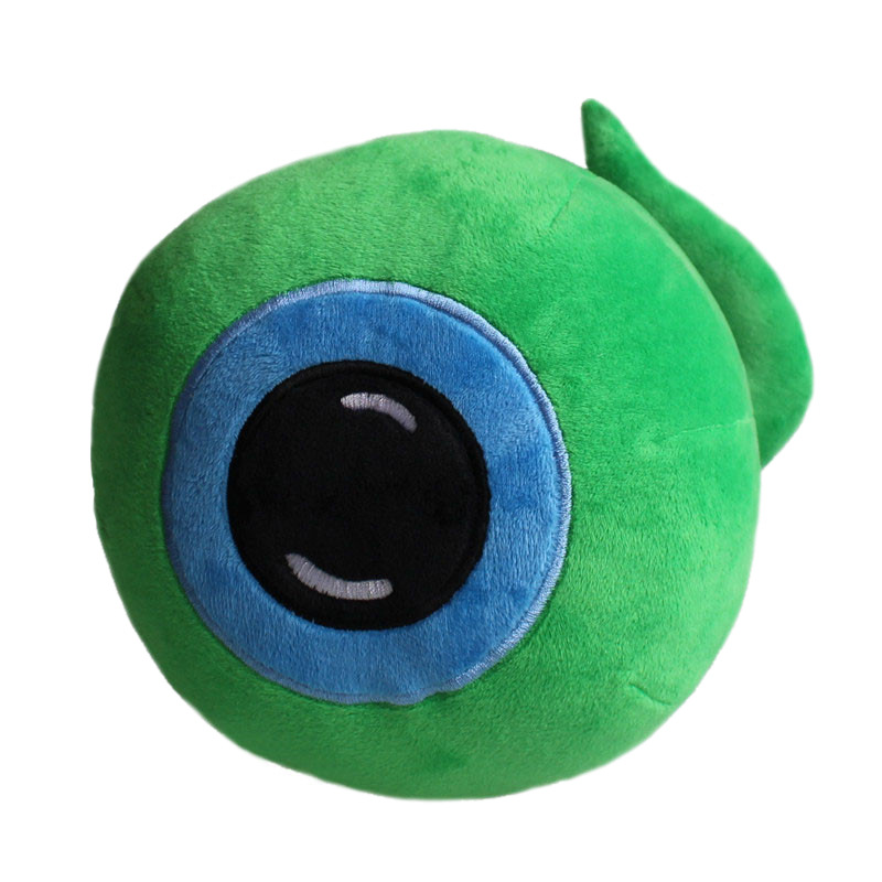 AIJUNXUAN Green eyes grab machine plush toy creative eyeball doll spoof pillow decoration