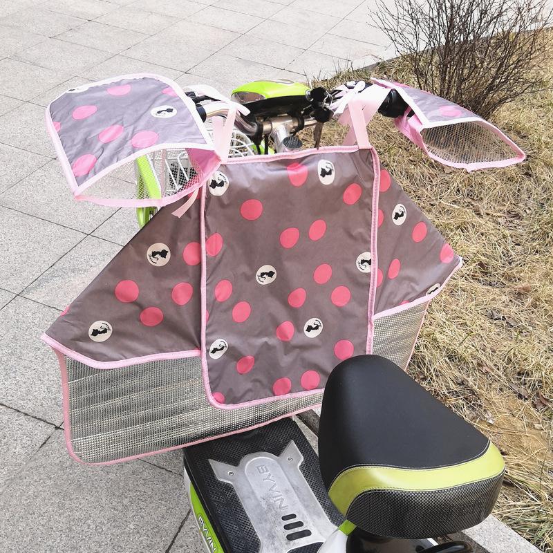 Tấm chắn gió Kính chắn gió xe máy điện được phân chia bởi tấm chắn nắng mùa hè xe đạp mỏng phần bóng