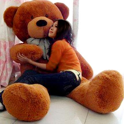 Búp bê vải  Đồ chơi sang trọng búp bê gấu lớn thêm búp bê quá khổ cô gái ngày tặng quà gấu gấu gấu