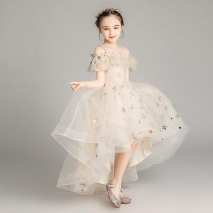 Trang phục dạ hôi trẻ em  Váy trẻ em, váy công chúa, bé gái, gạc bông, bé gái, phong cách phương tây