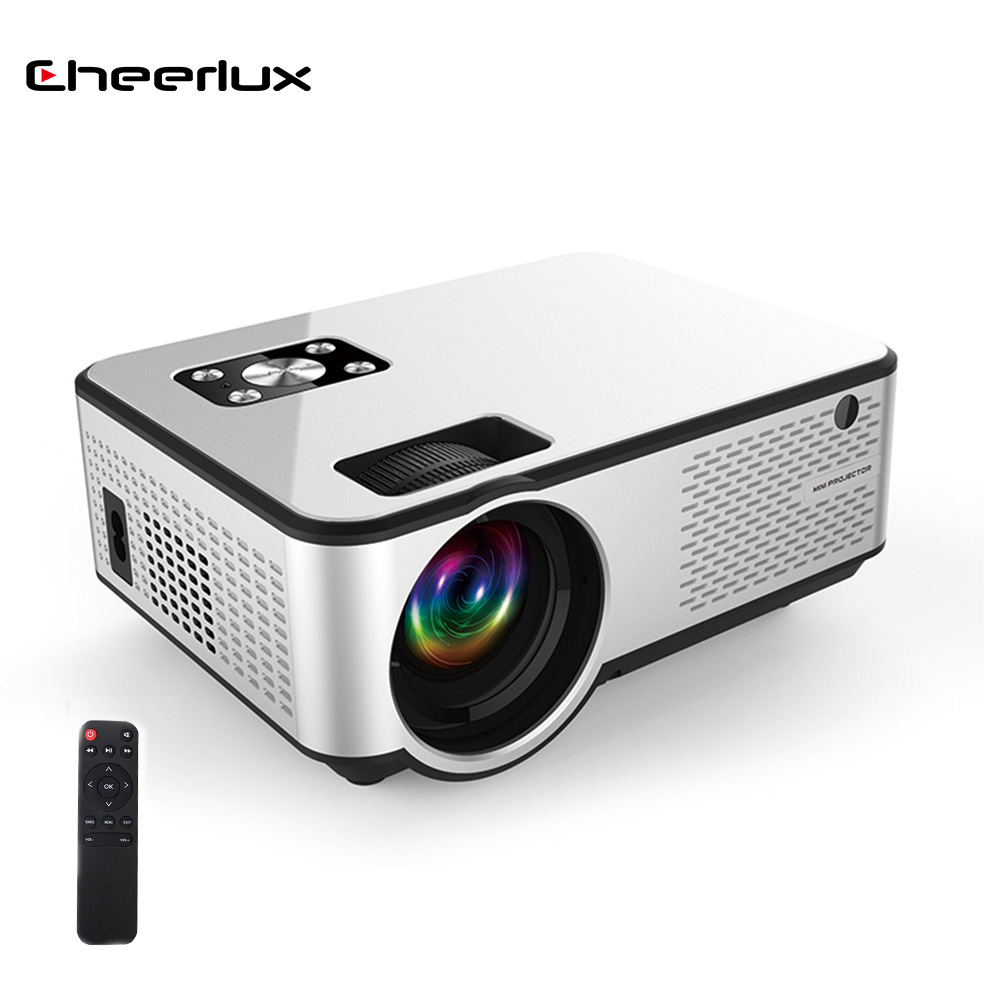 Cheerlux Home theater HD projector, factory direct portable smart projector