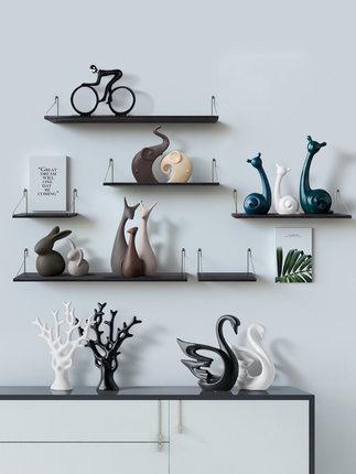 Đồ trang trí bằng gốm sứ Trang trí nội thất Bắc Âu Phòng khách Trang trí bằng gốm Sáng tạo Máy tính