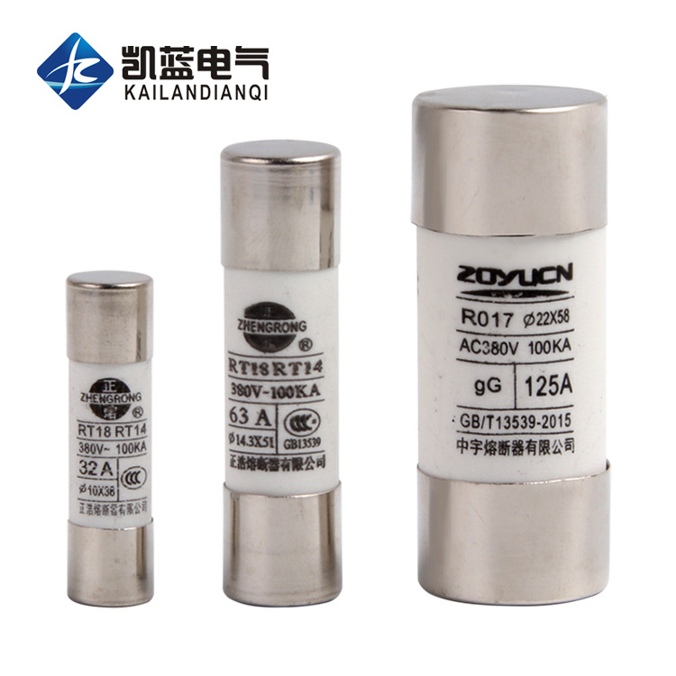 CHKL R015 R016 17 fuse RO15 cylindrical fuse melt core RT18 63A 32A