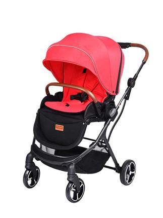 Justyes Xe đẩy trẻ em  , Hà Lan, xe đẩy hai chiều, xe đẩy phong cảnh cao, nhẹ, gấp, ngồi và ngả A780