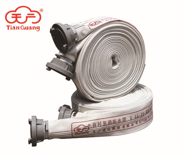 Tianguang factory wholesale fire hose 65-8 type 20 25 meters high pressure wear-resistant fire hose