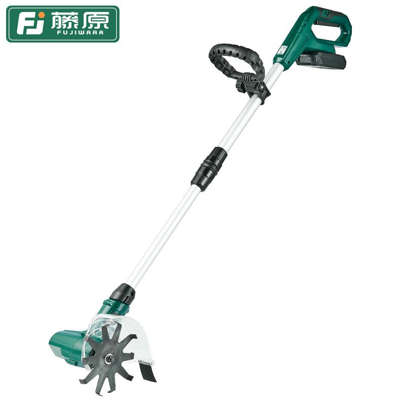 Fujiwara ripper small vegetable plot household micro tiller tiller agricultural tool tiller portable
