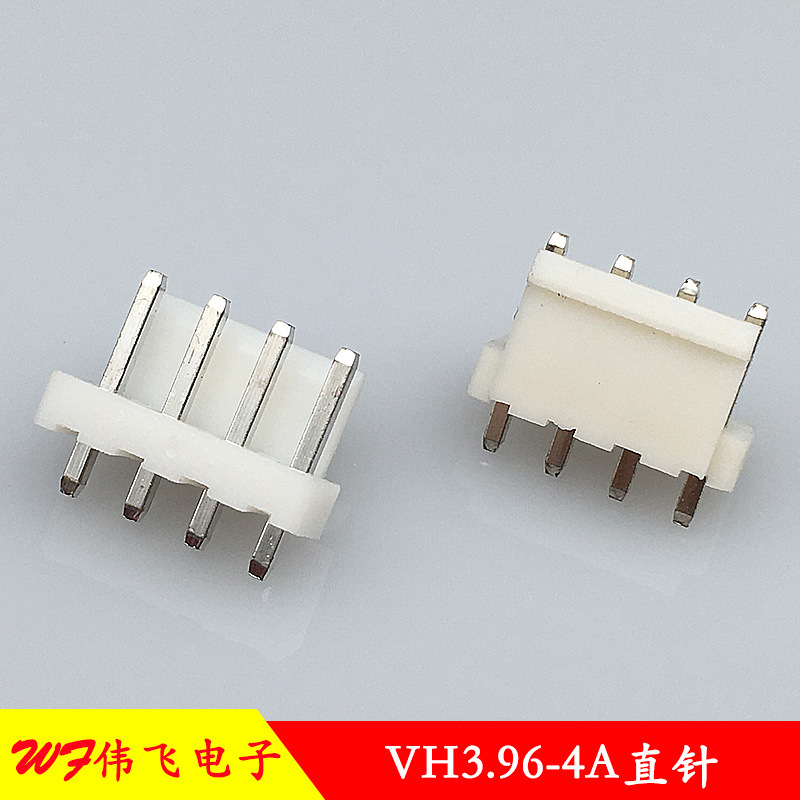 WEIFEI VH3.96 connector VH-4P straight pin header 3.96mm pitch buckle connector