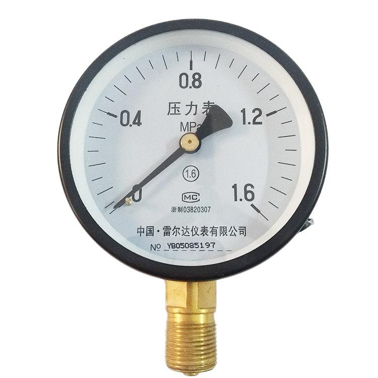 LEIERDA Rielda pressure gauge Y100 instrument high temperature pressure gauge vacuum pressure gauge