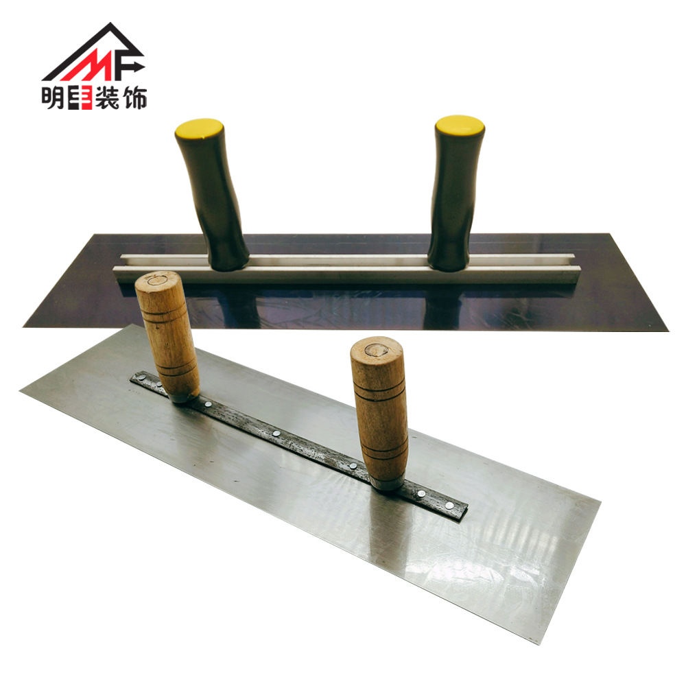 MINGFENG Wholesale large trowel with both hands, wall scraper, putty, leveler tool, adjustable and r