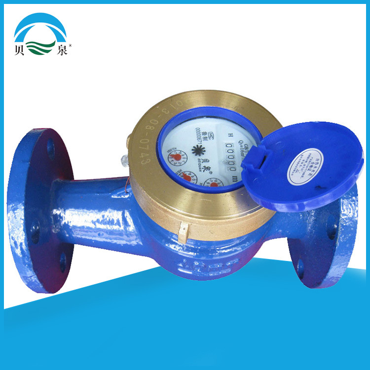 DN 15-50 small diameter flange water meter household mechanical water meter rotor screw thread cold