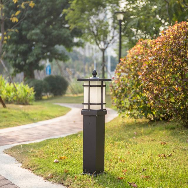 JUBAIHUI LED lawn light outdoor lawn garden light outdoor waterproof landscape light pure aluminum g
