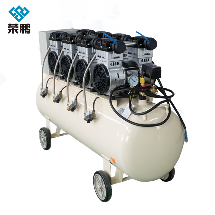 RONGPENG Autus oil-free silent air compressor woodworking air compressor spray paint air pump
