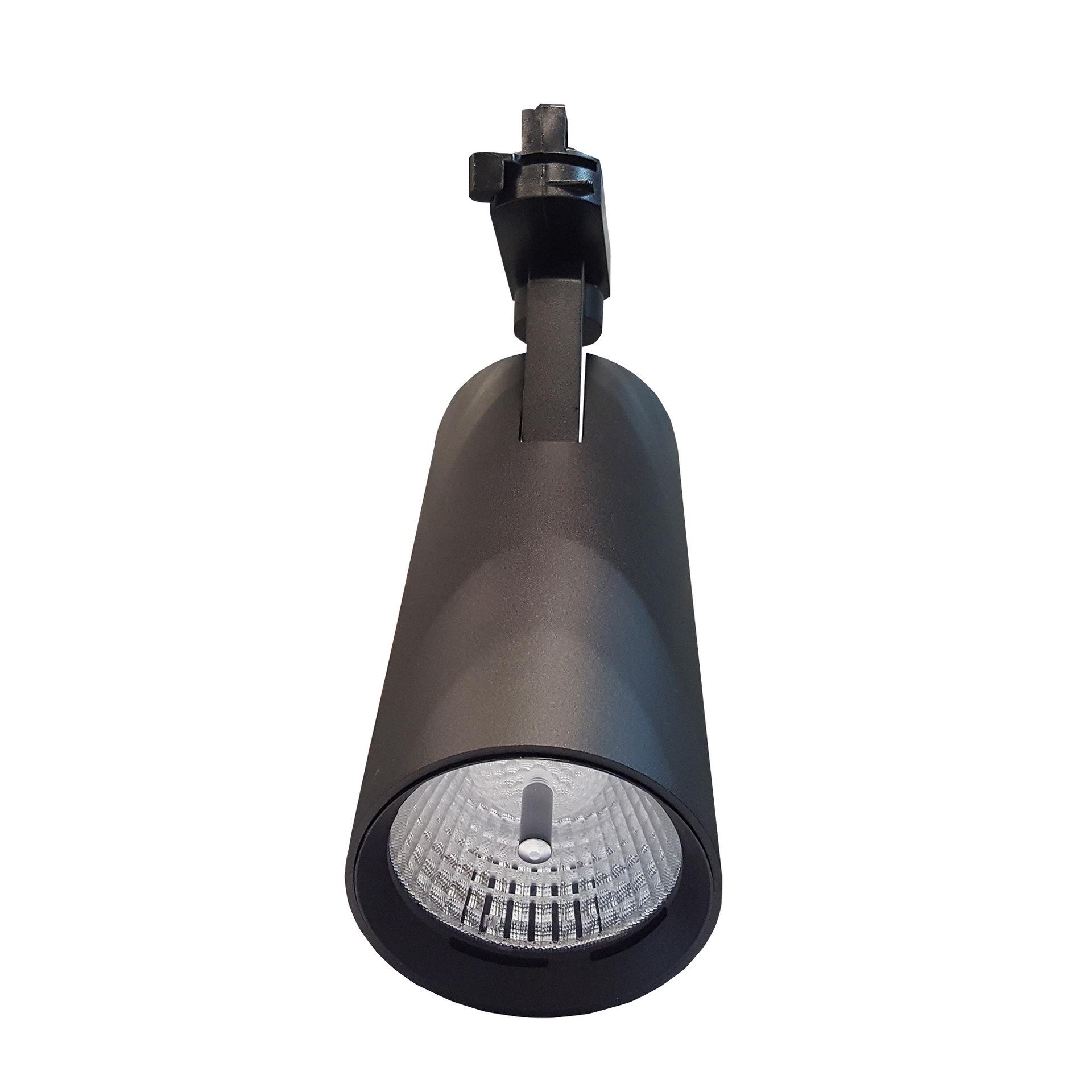 SEO Led spotlight led track light COB track spotlight Built-in driver European and American four-wir