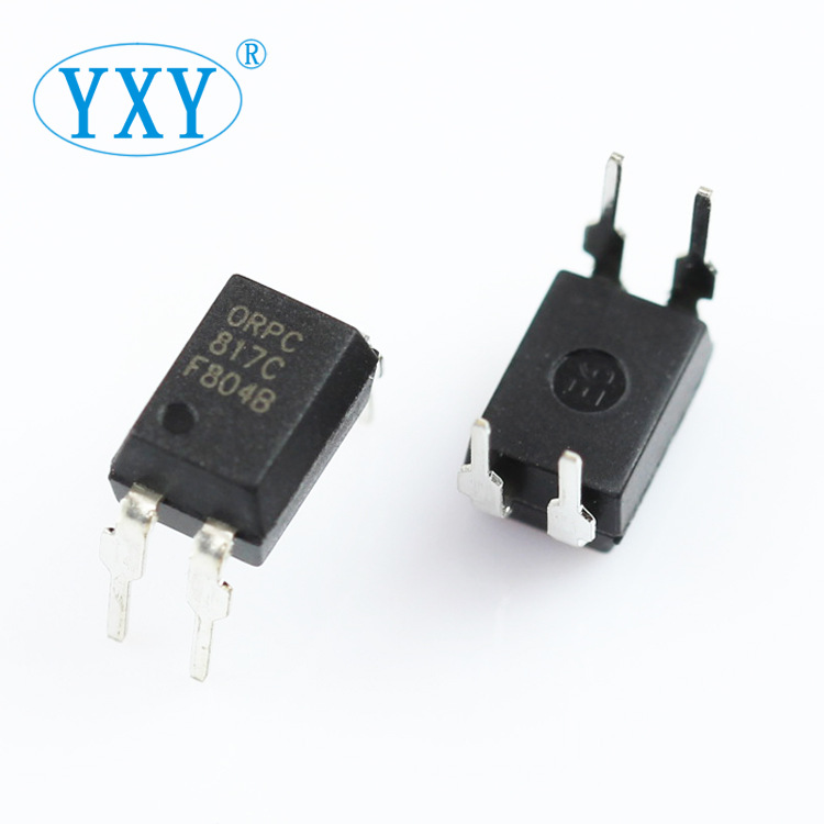 YIPINYUAN Professional supply of PC817C ORPC817C package DIP-4 optocoupler Orende optocoupler
