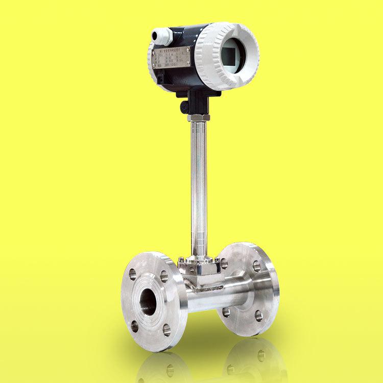 ZHYQ High precision digital display intelligent vortex flowmeter with temperature and pressure compe