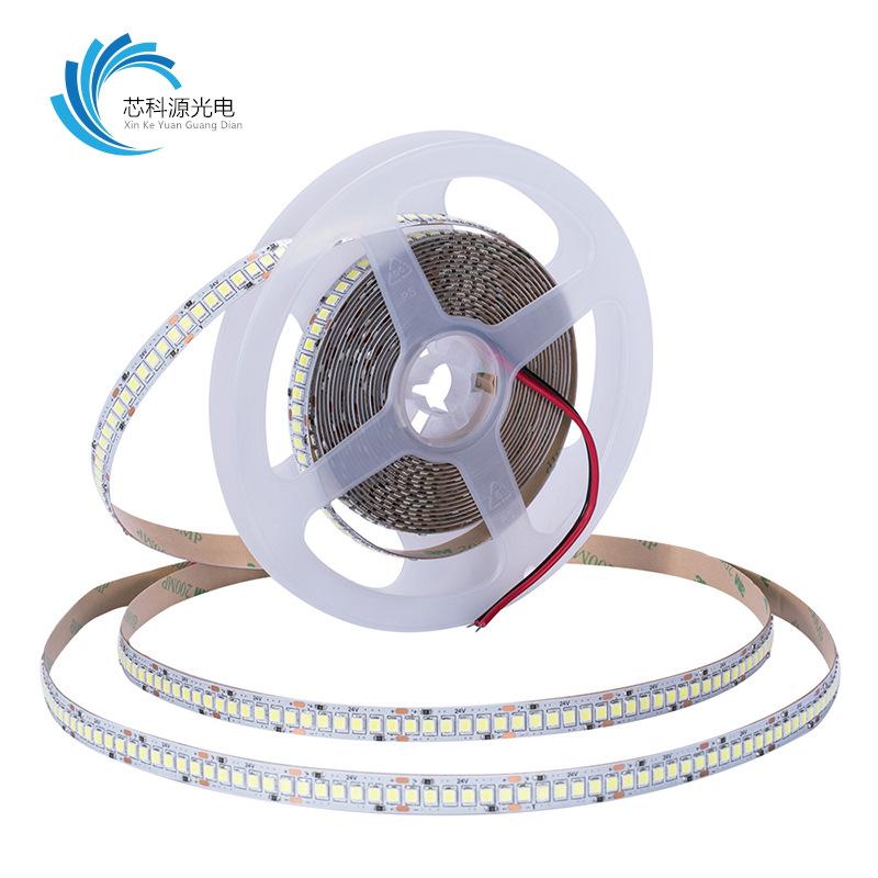 XINKEYUAN Super bright led lights with 12v2835 high density 240 lights/m no spot bare board soft lig