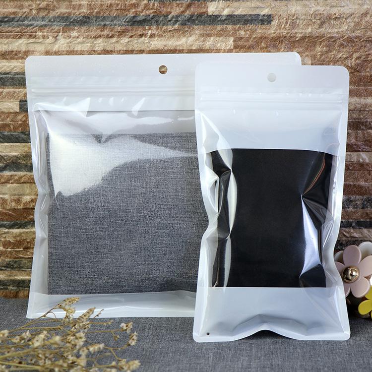 Clothing leggings, panties, packaging bags, warm pants, pure white ziplock bags, scarves, underwear,