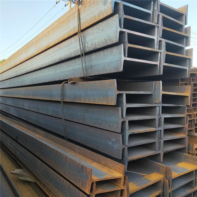 Spot steel wholesale, galvanized I-beam, factory mine steel beam q235b national standard, hot-rolled