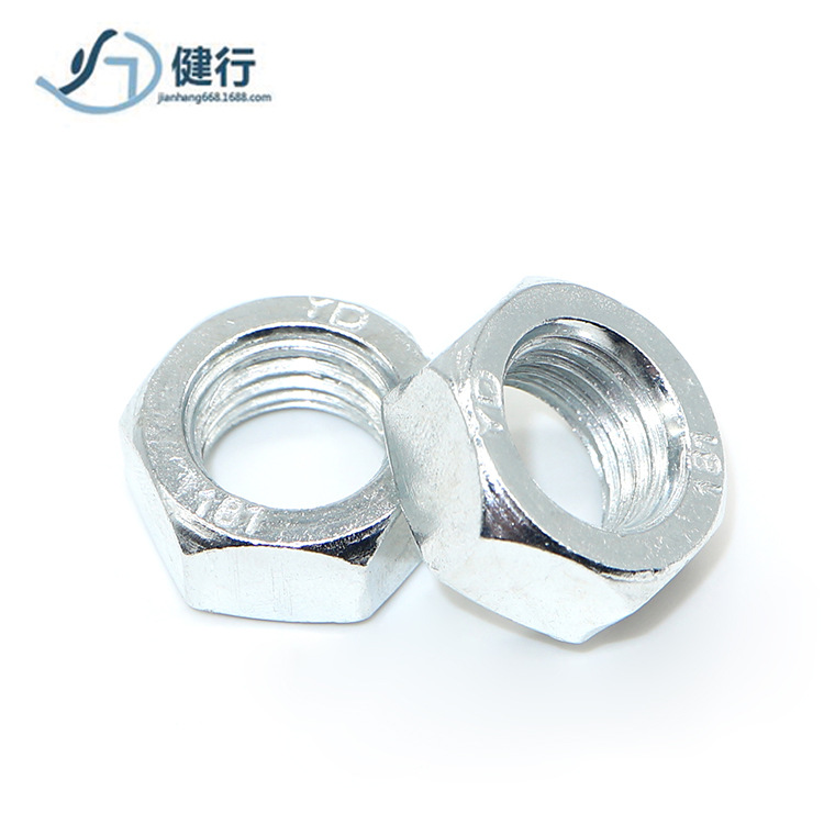 RONGYAO Grade 4.8 Carbon Steel Hex Nuts National Standard Galvanized Hex Nuts M6M8M10M12