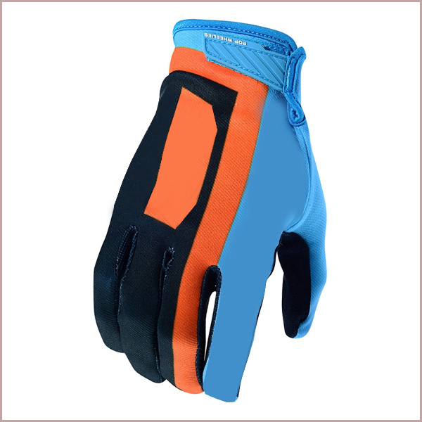 (T-K gloves) Full-finger protective outdoor cycling motorcycle cycling racing cross-country long-fin