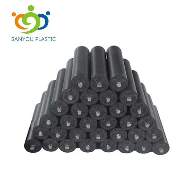 SANYOU Ultra-high molecular weight polyethylene roller PE wear-resistant roller wear-resistant corro