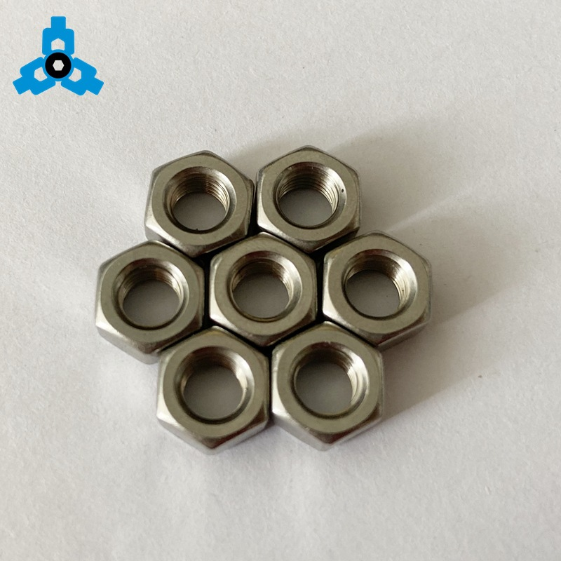 HONGYI Customized car nut Stainless steel 316 thick nut 316 hex nut DIN934