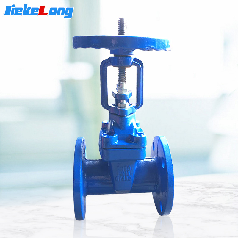 Jiekelong Jingjia Valve Flange Rising Stem Gate Valve Two-way soft sealing ductile iron rising stem