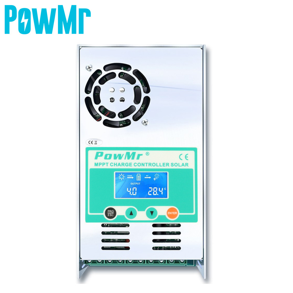 PowMr MPPT solar controller 60A solar panel charge and discharge controller 12/24/36/48Vvoc150V