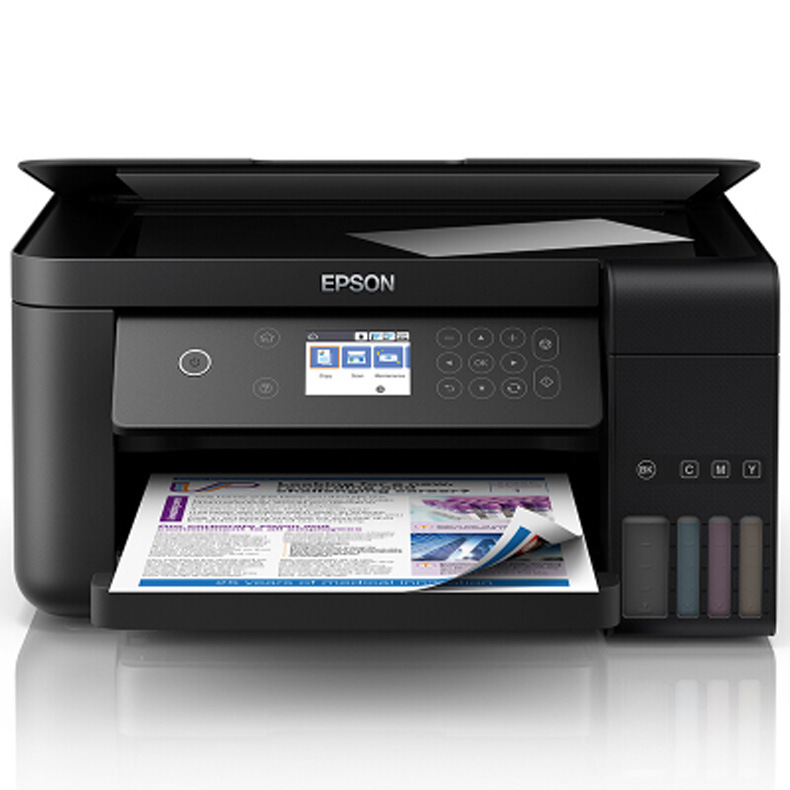 Epson L6198 color inkjet printing copy scanning fax all-in-one machine WiFi commercial home automati
