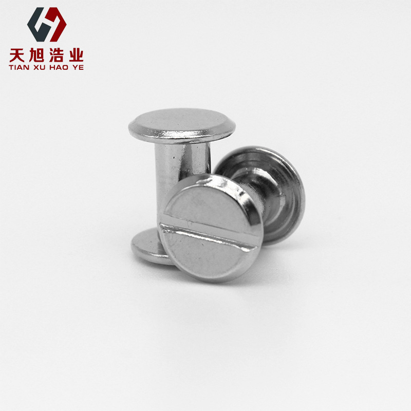 HAOYE Picture screw, ledger rivet, recipe screw, nickel-plated ledger screw
