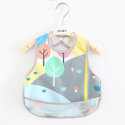 Áo khoác  Áo choàng chống rơi cho bé, túi đựng thức ăn, yếm ăn, áo choàng không tay mỏng, thoáng khí