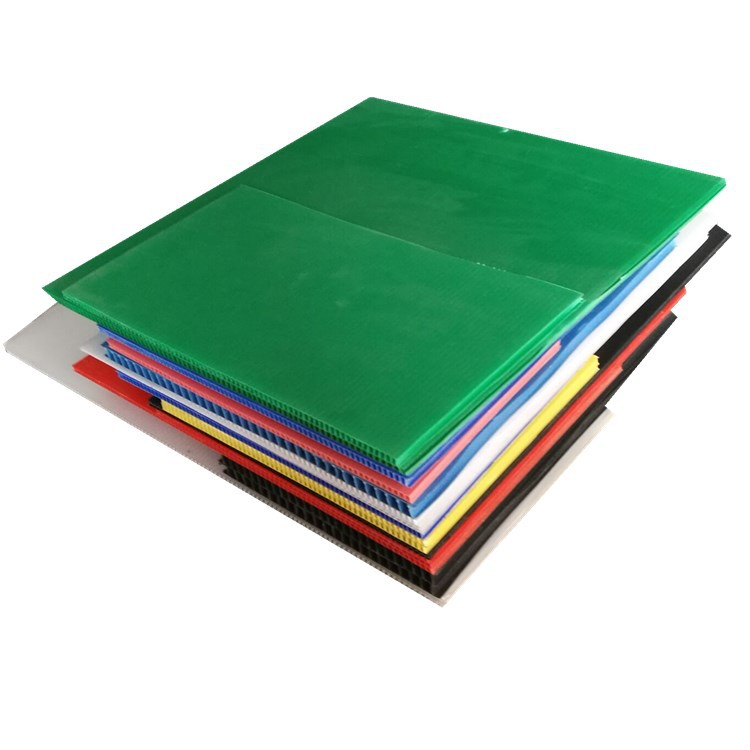 RONGXIN pp hollow board partition/anti-static hollow board luggage lining board Wantong board size a