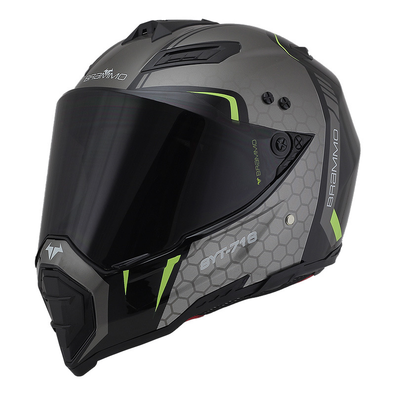 BYE road and off-road helmet male personality motorcycle rally helmet full cover full face four seas