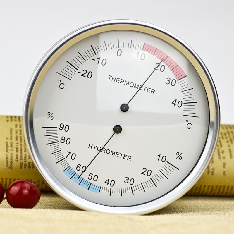 Varen 132mm pointer type thermal bimetallic temperature and humidity meter indoor and outdoor temper