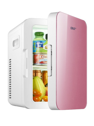 tủ lạnh xe hơi  SAST Xianke 8L Xe hơi nhỏ Gia đình Tủ lạnh sử dụng kép Tủ lạnh Hộ gia đình Phòng ngủ