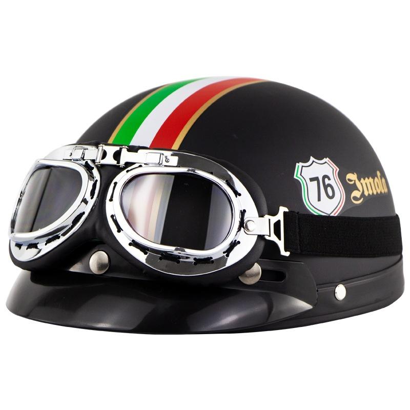 Cyclegear Harley motorcycle electric bike helmet outdoor riding sunscreen helmet half helmet persona
