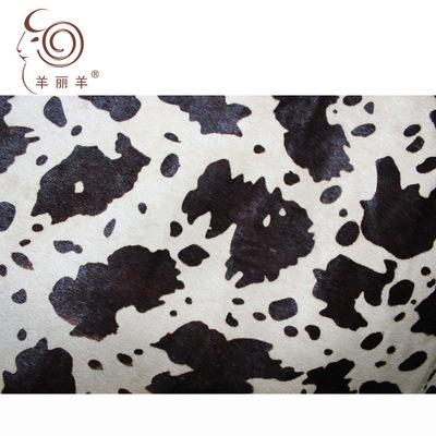 YANGLIYANG Da ngựa [Cừu Li Yang] Nguồn hàng xuất xứ nhập khẩu hai màu in mới nhất lông ngựa da thật