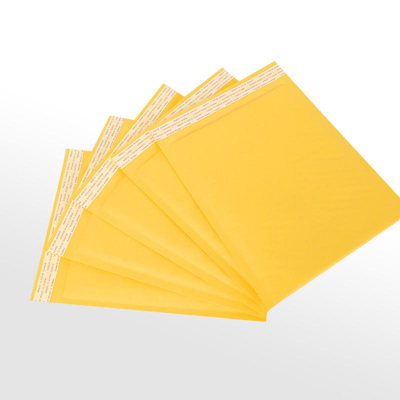 JIAYE Bubble Envelope Bubble Pack Express Bag Yellow Packed Kraft Paper Bubble Bag Bubble Bag Envelo