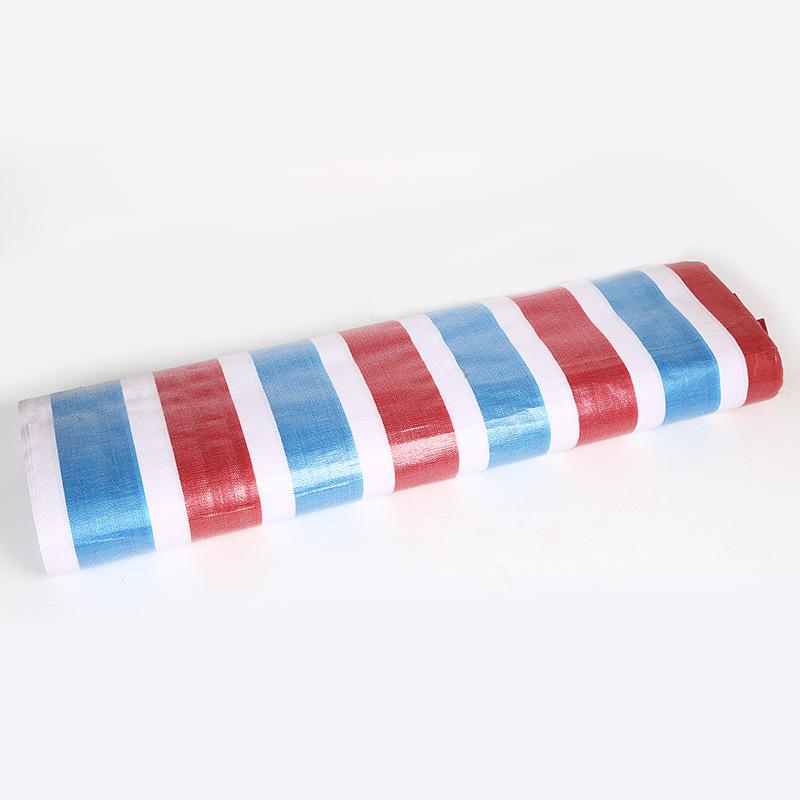 XIANGGUANG PP single laminating polyethylene color stripe plastic sheet engineering packaging moistu