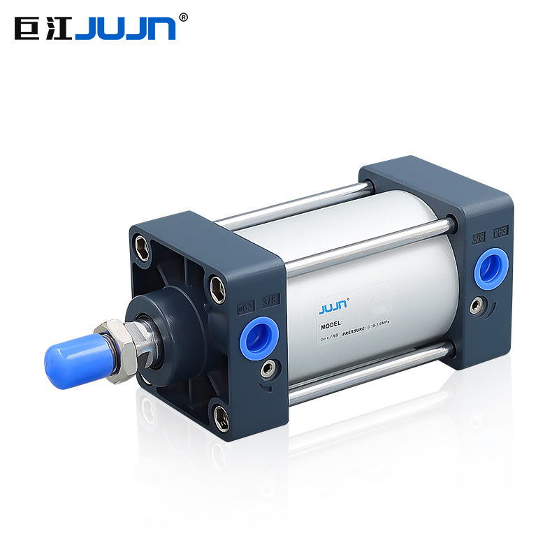 Jujn Pneumatic SC standard cylinder SC50*50/75/150/200/300S aluminum alloy square cylinder