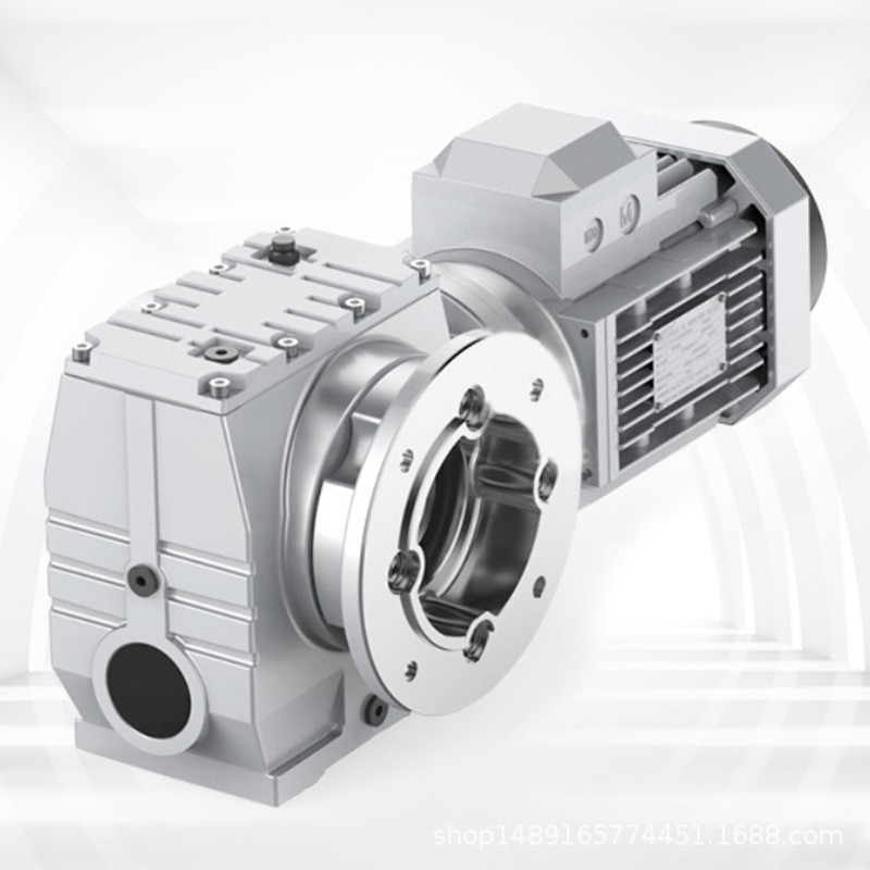 XIOU Stable structure and thick material S series helical gear worm gear reducer