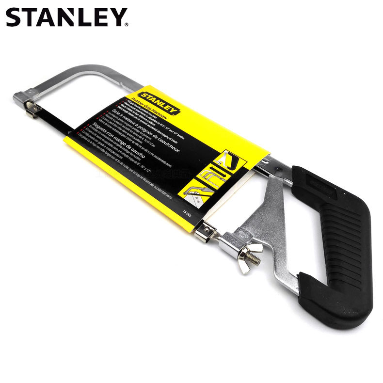 Stanley adjustable saw bow 10 / 12 inch hacksaw frame woodworking saw household hand saw 15-265-23 h