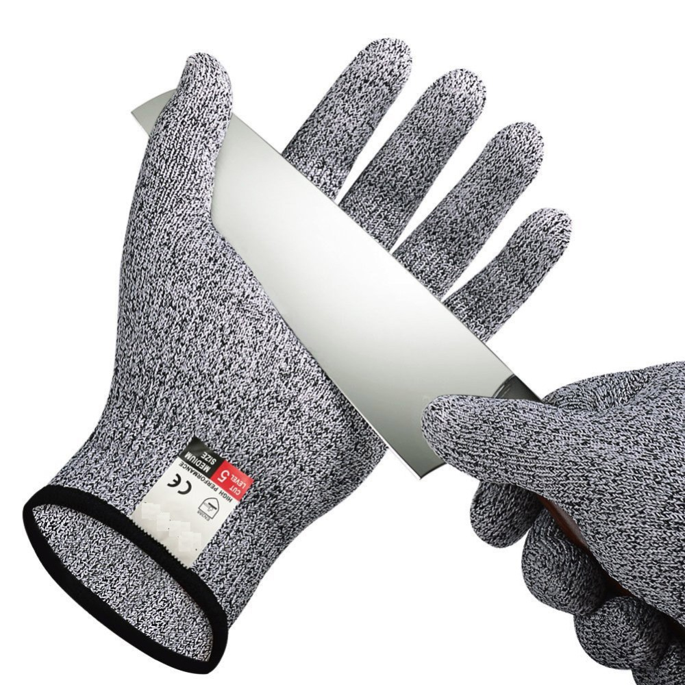DEYAN Garden gloves, kitchen level 5 cut resistant gloves, supplies gloves, acid and alkali resistan