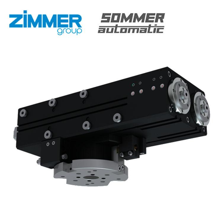 Xi lanh xoay ZIMMER / SOMMER của Đức SF195N-C / SF195-90N-C / SF195-180N-C