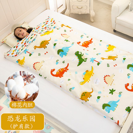 Túi ngủ trẻ em Trẻ em túi ngủ mùa xuân bông mùa hè mỏng phần lớn trẻ em chống đá chăn trẻ sơ sinh họ