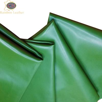 CAIHONG Da dê [Caihong] 95 thước Thẻ màu quốc tế Pantone Giày da cừu nguyên hạt lớp thứ nhất đầy đủ,